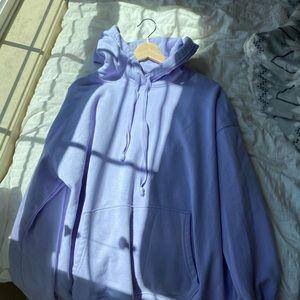 Lavender American Eagle hoodie